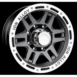 Felga aluminiowa ION 16X8 5X114,3 ET: -5 dla Jeep, Freelander, Toyota RAV4, Honda, Ford, Dodge