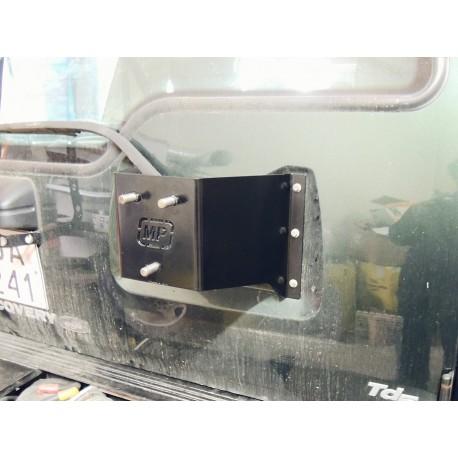 Uchwyt koła zapasowego na drzwi do Land Rover Discovery I
