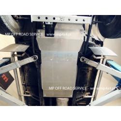 Osłona skrzyni biegów i reduktora do Defender 110/130 aluminiowa.