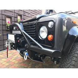 Zderzak rurowy przedni HD do Land Rover Defender (wersja z orurowaniem typu delta/a-bar)