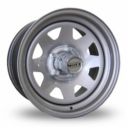 Felga stalowa srebrna Dotz Dakkar 16X7 5x139,7 ET: 0 dla Suzuki, Daihatsu, Łada Niva, Uaz, SsangYung