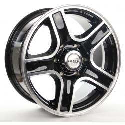 Felga aluminiowa Dotz Hammada 18X8,5 6x139,7 ET: 0 dla Nissan Patrol, Navara, Mitsubishi Pajero, L200, Isuzu, Opel, Toyota