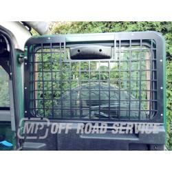 Osłona szyby drzwi tylnych Land Rover Defender