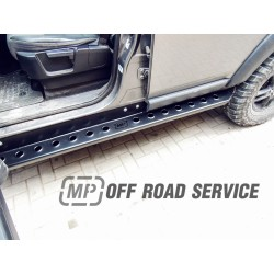 Progi boczne skrzynkowe HD do Land Rover Discovery IV