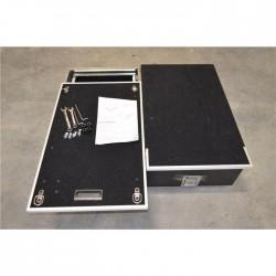 Zabudowa bagażnika z szufladami i ruchomą półką 130x97