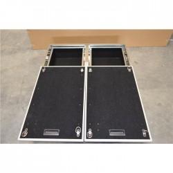 Zabudowa bagażnika z szufladami i ruchomymi półkami 90x97