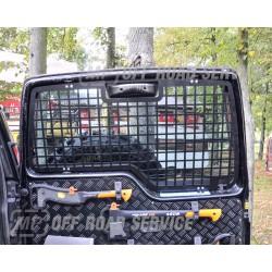 Osłona wewnętrzna szyby drzwi tylnych Land Rover Discovery
