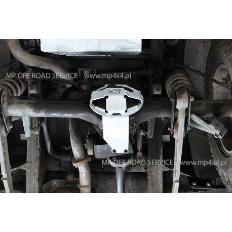 Osłona ślizgowa główki tylnego mostu do Land Rover Discovery II ocynkowana