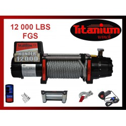 Titanium Winch HUNTER FGS