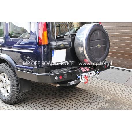 Zderzak tylny HD z bokami  osłaniającymi i montażem wyciągarki do Land Rover Discovery II