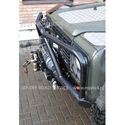 Zderzak rurowy przedni HD do Land Rover Defender  (wersja z pełnym orurowaniem/bull barem)