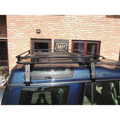 Krótki bagażnik dachowy do Land Rover Discovery I i Discovery II