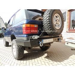 Zderzak tylny HD z wieszakiem na koło zapasaowe do Range Rover P38