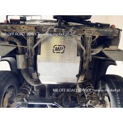 Osłona HD zbiornika paliwa do Defendera 110/130 od 99 aluminiowa