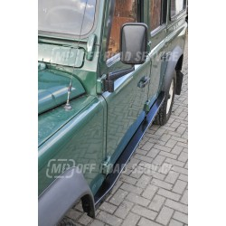Progi boczne skrzynkowe do Land Rover Defender 90