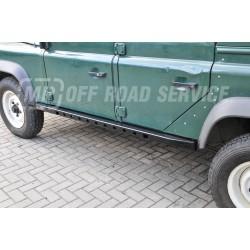 Progi boczne skrzynkowe do Land Rover Defender 110