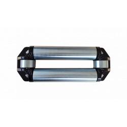 Prowadnica rolkowa do wyciągarek z lina stalową.