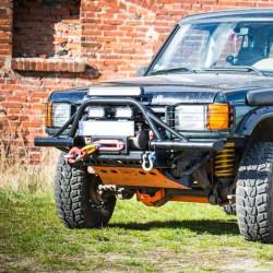 Zderzak rurowy przedni HD do Land Rover Discovery