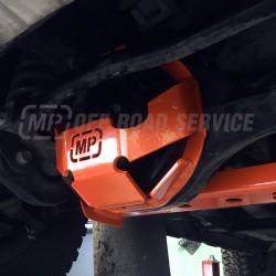 Osłona główki przedniego mostu do Land Rover pomarańczowa