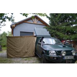 Ścianki, namiot do zadaszenia bocznego 1,4x2m