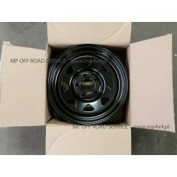Felga stalowa czarna 17X7 5X120 ET: 20 do Land Rover Discovery III, Discovery IV