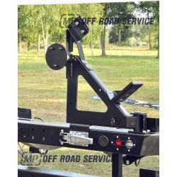 Uchwyt na koło zapasowe i podnośnik hilift do Land Rover Discovery