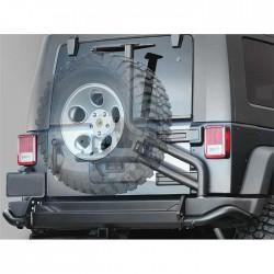 Zderzak tylny z uchwytem na koło zapasowe Snake4x4 do Jeep Wrangler JK