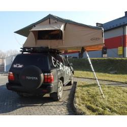 Namiot dachowy 4 osobowy - wersja long 165 cm z przedsionkiem