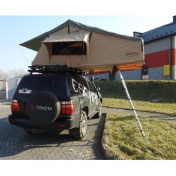 Namiot dachowy 3 osobowy - 140cm z przedsionkiem