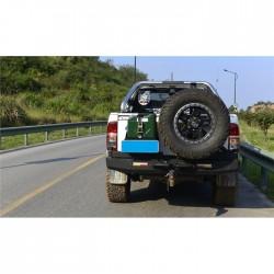 Zderzak tylny z mocowaniem koła zapasowego i kanistra Snake4x4 do Toyota Hilux Vigo / Revo