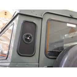 Aluminiowy panel zastępujący szybę do Land Rover Defender