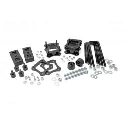 Zestaw dystansów zawieszenia +2,5-3cale Lift Kit Rough Country Toyota Tundra 4WD 07-18