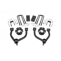 Zestaw zawieszenia +3cale Bolt-On Lift Kit Rough Country Nissan Titan XD 16-18