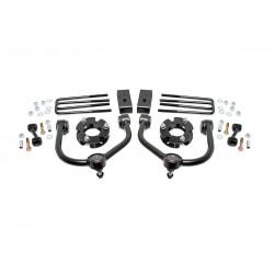 Zestaw zawieszenia +3cale Bolt-On Lift Kit Rough Country Nissan Titan XD 04-18