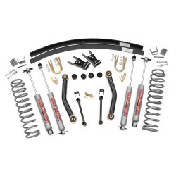 Zestaw zawieszenia +4,5cale Basic Lift Kit Rough Country  Jeep Cherokee XJ