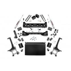 Zestaw zawieszenia +4,5cale Lift Kit Rough Country Toyota Tundra 07-15 4WD/2WD