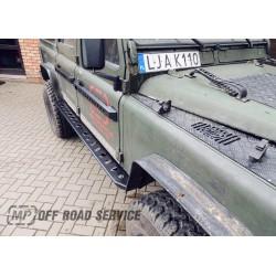 Progi boczne HD2 do Land Rover Defender 90