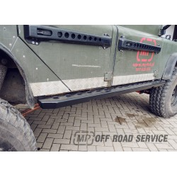 Progi boczne HD3 do Land Rover Defender 110