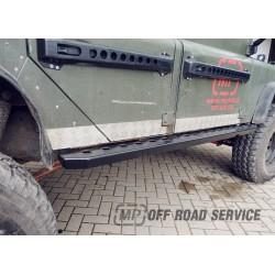 Progi boczne HD3 do Land Rover Defender 110