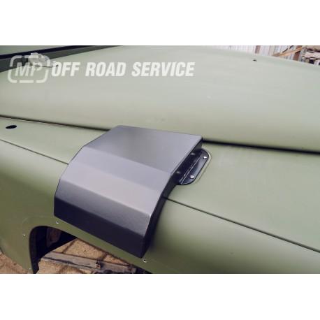 Osłonka wlotu nagrzewnicy do Land Rover Defendera