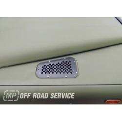 Stalowa kratka wlotu powietrza do Land rover Defender
