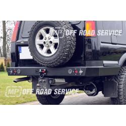 Zderzak tylny HD z bokami  osłaniającymi do Land Rover Discovery II