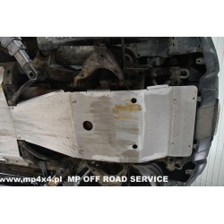 Zestaw aluminiowych osłon podwozia do Toyota Land Cruiser 120 / 125