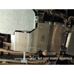 Osłona HD skrzyni biegów i reduktora do Land Rover Discovery III, Discovery IV aluminiowa