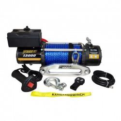 Wyciągarka elektryczna Kangaroowinch K13000 12V z liną syntetyczną