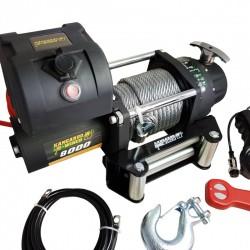 Wyciągarka samochodowa elektryczna Kangaroowinch K8000E 12V z liną stalową
