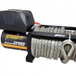 Wyciągarka elektryczna Kangaroowinch K12000 Performance Series 12V z liną syntetyczną