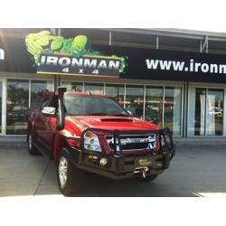 Zderzak przedni Commercial DeLux IronMan do Isuzu D-Max 2007-2011