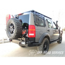 Uchwyt na koło zapasowe i podnośnik hilift do Land Rover Discovery 3 i 4
