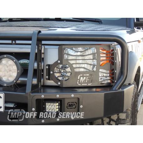 Osłony świateł do Land Rover Defender
